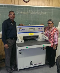 ABS installs Duplo 490P Cutter at King Tears Mortuary in Austin Texas